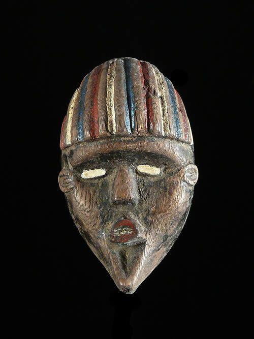 Masque passeport - Dan / Bassa - Liberia