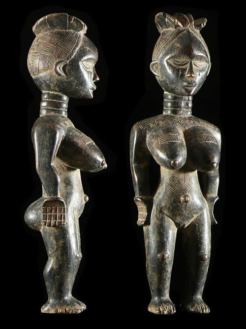 Statuette de fertilite - Mende - Sierra Leone