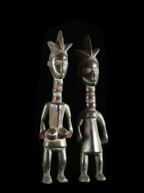 Couple de genies - Mende - Sierra Leone