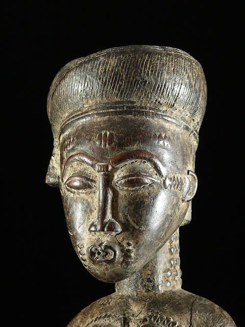 Statue de reine - Baoule - Côte d'Ivoire