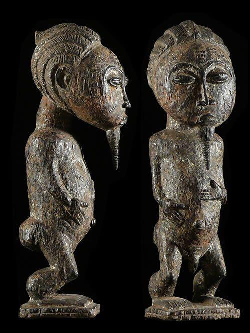 Statue de Jumeau - Baoule - Côte d'Ivoire