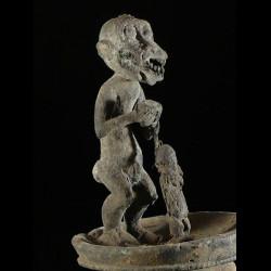 Statuette genie singe...