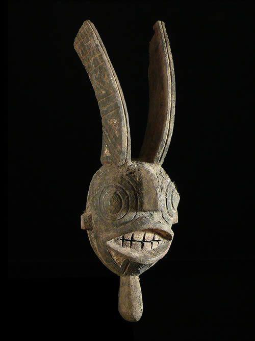 Masque a double crete - Winiama - Burkina Faso