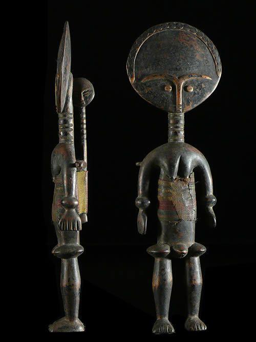Akua Mma ou Akwaba - Ashanti - Ghana - Poupees Africaines