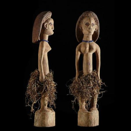 Statue Feminine - Ovimbundu...