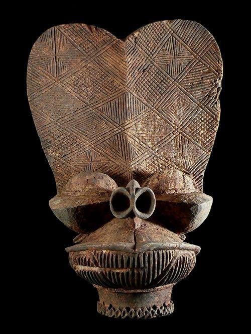 Masque Batcham - Bamileke - Cameroun