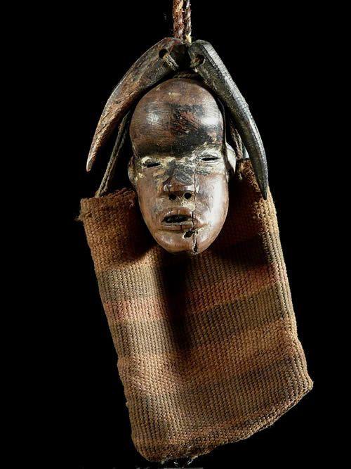 Masque amulette de chasseur - Dan - Côte d'Ivoire