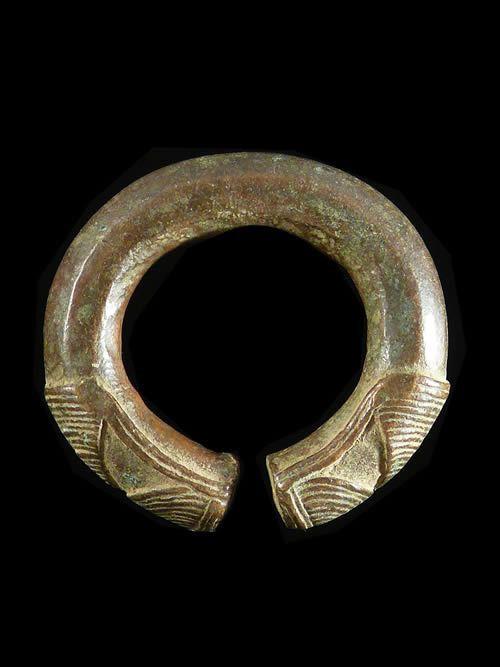 Bracelet monnaie en alliage - Kuri / Kalia - Tchad