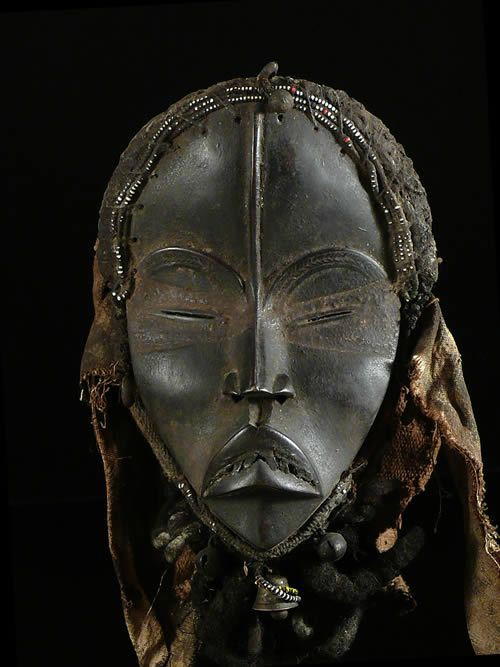 Masque Funeraire Royal - Dan Manon - Liberia / Guinee