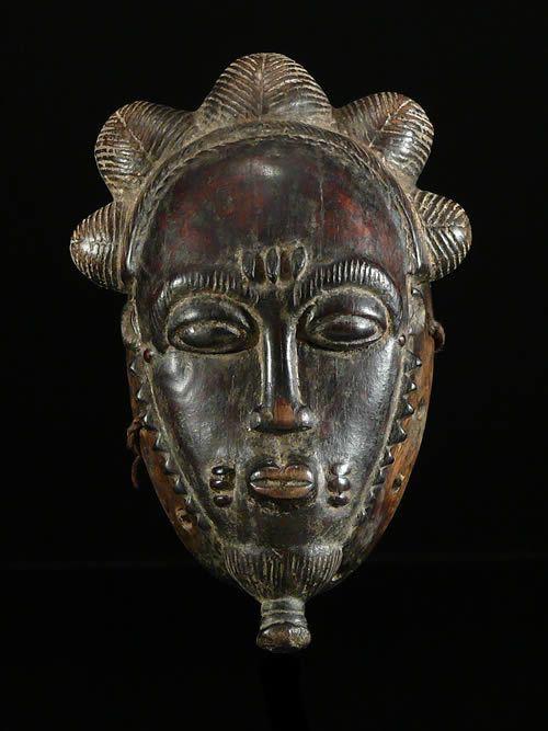 Masque de rejouissance Mblo Enfant - Baoule - Côte d'Ivoire