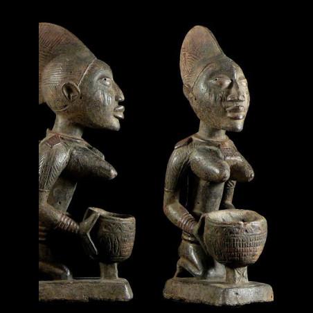 Porteuse de coupe - Yoruba...