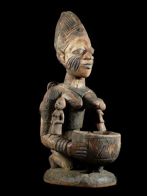 Porteuse de coupe - Yoruba - Nigeria