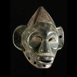 Masque rituel Lipico -...