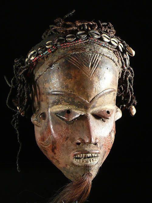 Masque Mbuya - Pende - RDC Zaire