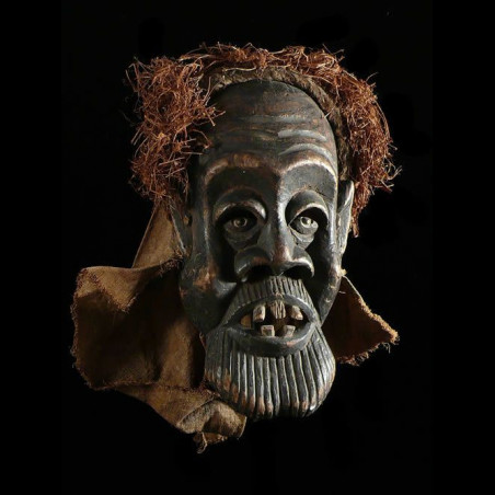 Masque Ancien Tundu - Pende...