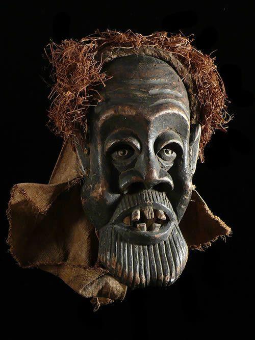 Masque Ancien Tundu - Pende - RDC Zaire - Masques africains