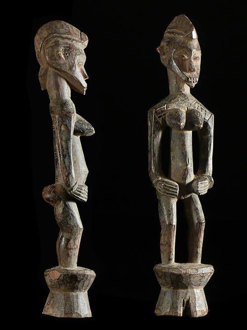 Statue Pilon Deble Poro - Senoufo - Côte d'Ivoire