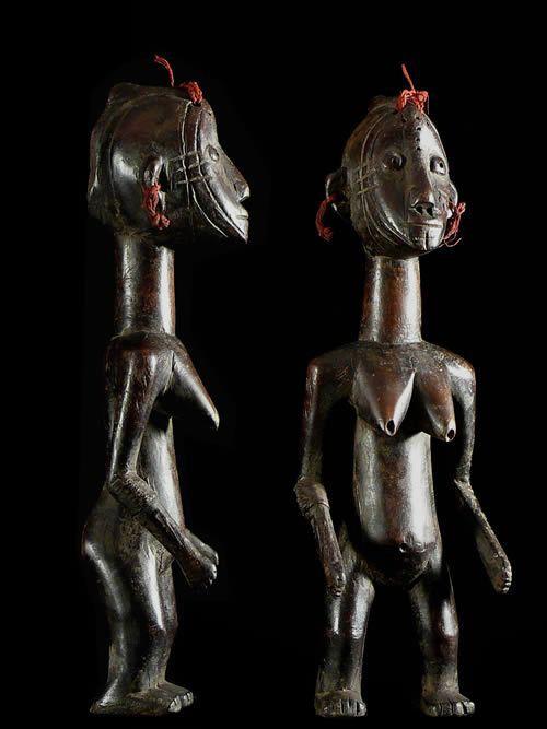 Statuette Feminine Nakomse - Mossi - Burkina Faso