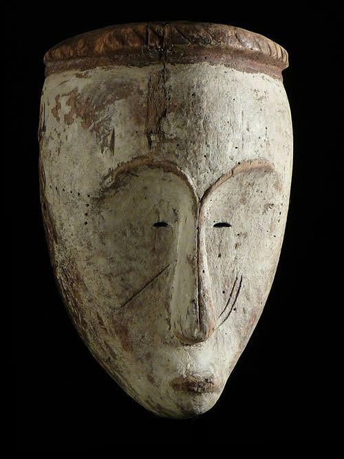 Masque Ngon Ntang - Fang - Gabon - Masques du Gabon