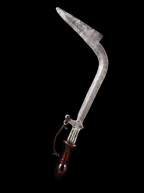 Couteau Faucille - Banda / Langbase - RDC Zaire