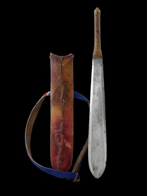 Couteau Glaive - Massai - Kenya / Tanzanie