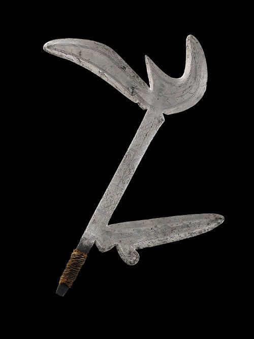 Couteau de Jet - Zande - RDC Zaire