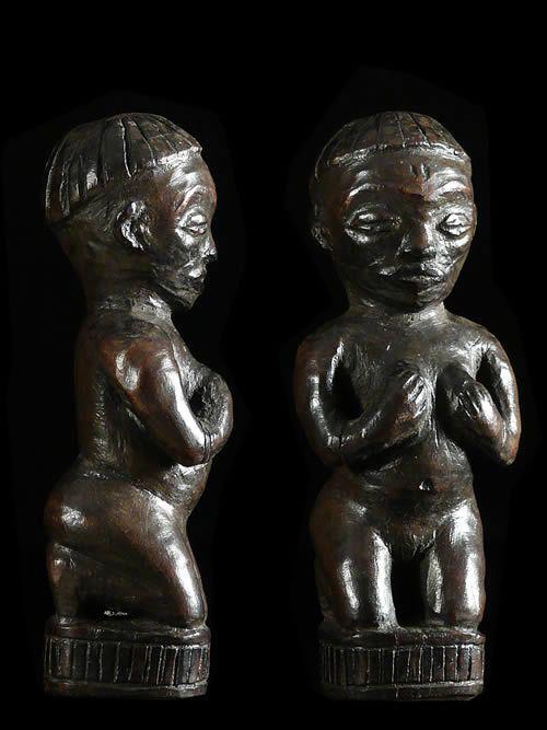 Statuette feminine - Pende - RDC Zaire