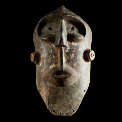 Masque polychrome - Biombo...