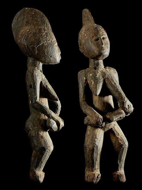 Statue Maternite Nakomse - Mossi - Burkina Faso
