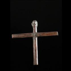 Crucifix en bois - Lobi -...