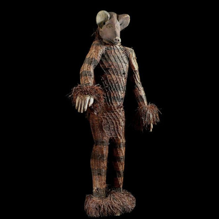 Statue initiatique Ngulu -...