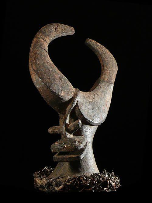 Masque Agraire Mangam Masculin - Jukun - Nigeria