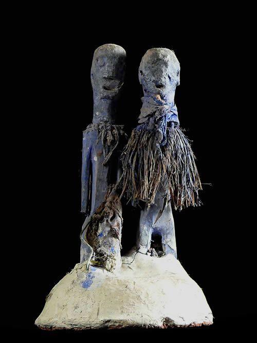 Couple Fetiche - Konkomba - Togo / Ghana
