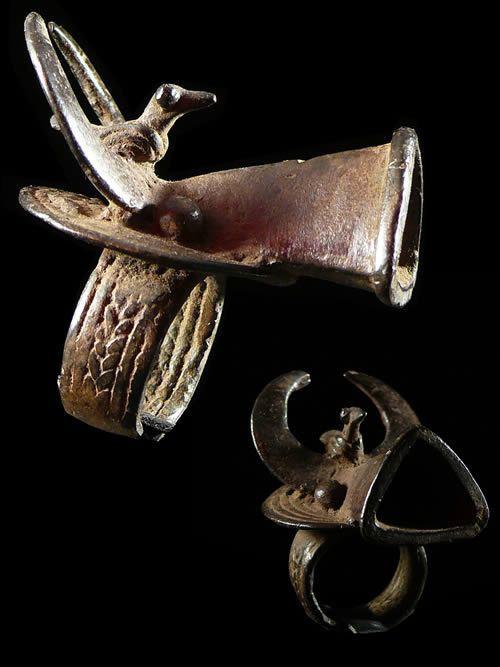 Bague amulette Buffle - Bwa - Burkina Faso