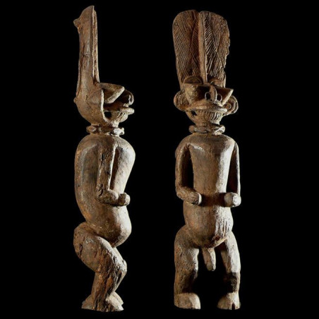Statue Batcham - Bamileke -...
