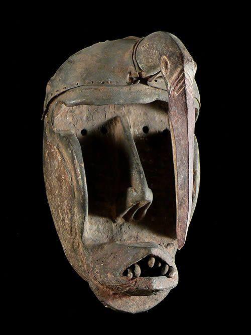 Masque de Chimpanzee Kaogle - Kran - Côte d'Ivoire