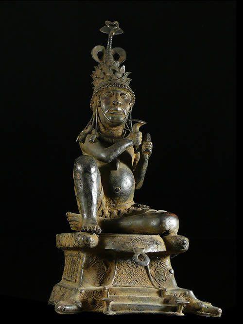 Oba composition autel - Bini / Edo - Nigeria