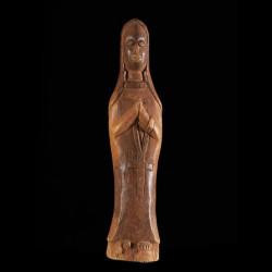 Statuette de Vierge...