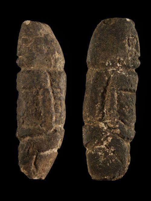 Statuette anthropomorphe en pierre - Dogon - Mali