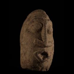 Tete en pierre - Dogon - Mali