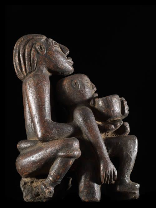 Maternite en pierre - Verre / Were ? - Nigeria / Cameroun