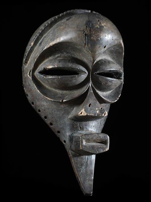 Masque rituel - Mbangani - RDC Zaire / Angola