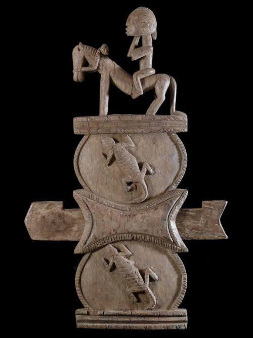 Serrure de porte ancienne - Dogon - Mali