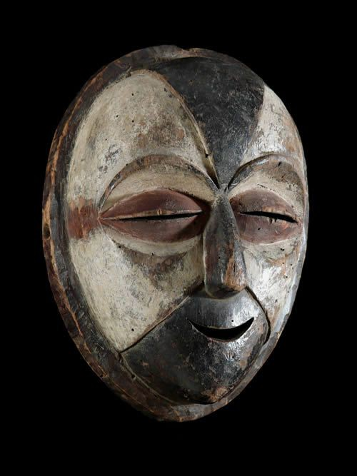 Masque Funeraire - Galoa / Galwa - Gabon