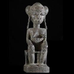 Statuette de reine - Baoule...