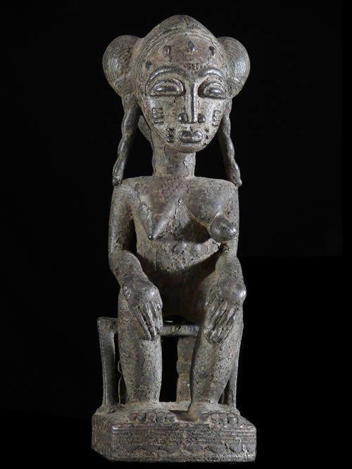 Statuette de reine - Baoule - Côte d'Ivoire