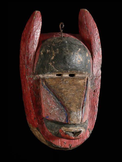 Masque Babouin de Chasseur - Baoule - Côte d'Ivoire