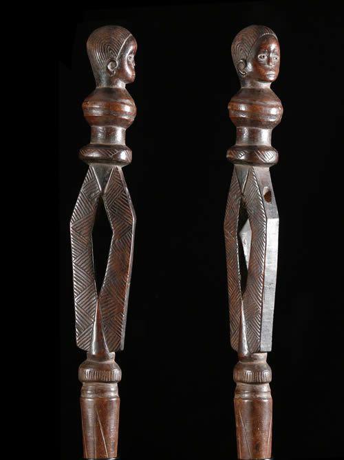 Sceptre de dignitaire - Tabwa ? - Angola - Objets de regalia