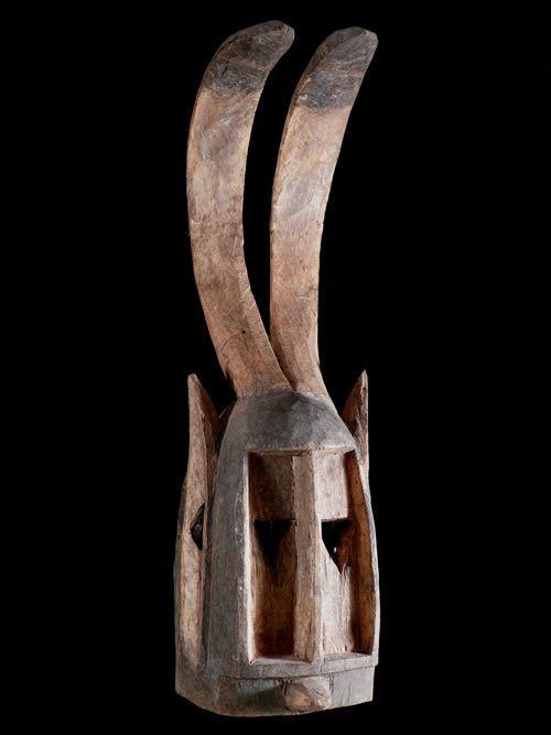Masque zoomorphe Lapin - Dogons - Mali - Masque Dogon