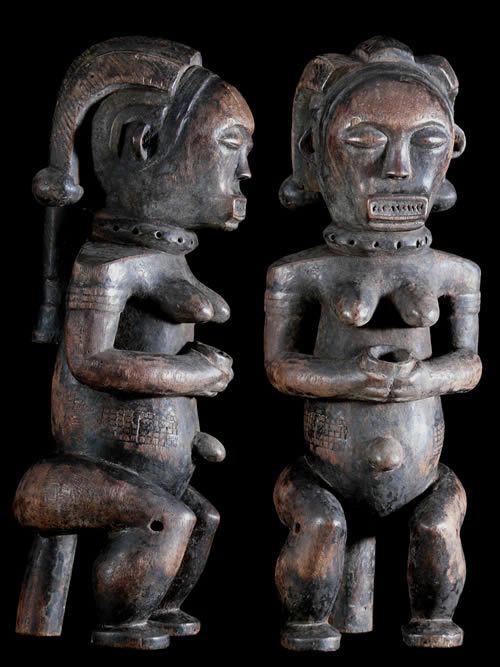 Gardien de reliquaire Biery - Fang / Mwai - Gabon